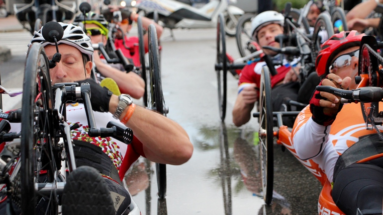 Handbike Tour lands again in Mallorca